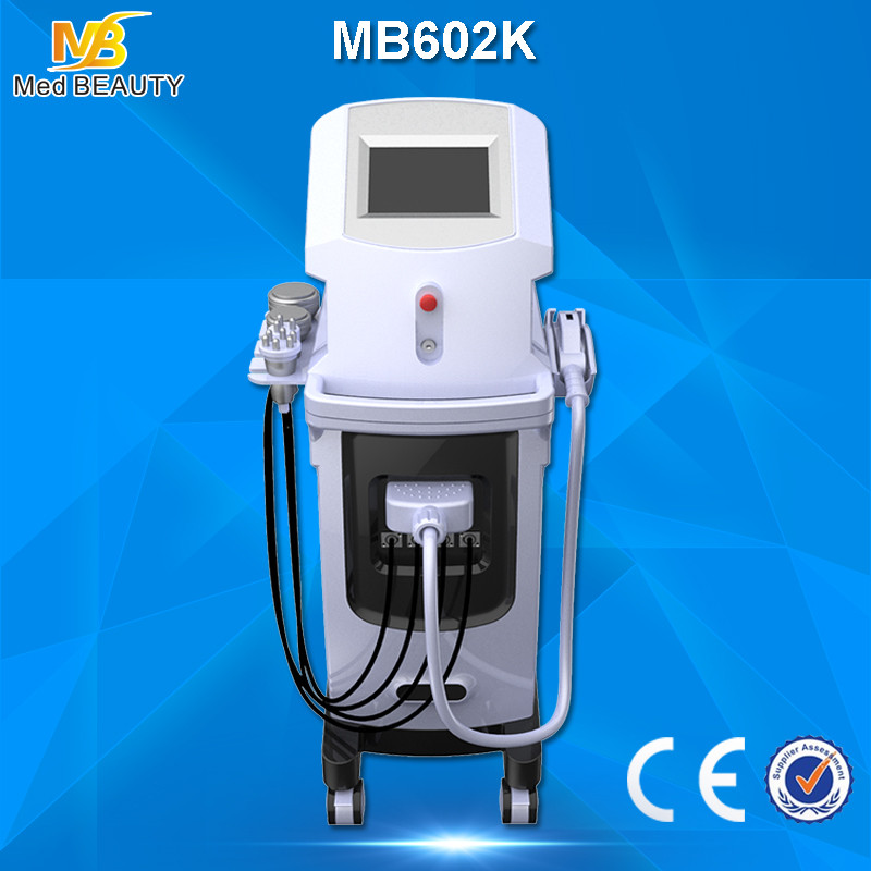 Hair Removal IPL+ E-Light + Cavitation + RF + Vacuum Slimming Machine