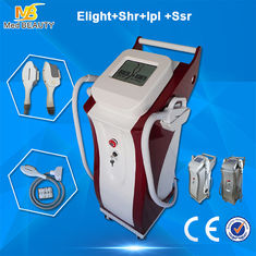 China SHR E - Light IPL Beauty Equipment 10MHZ RF Frequency For Face Lifting supplier