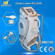 China Pain Free Shr + Ipl + Rf Semiconductor Laser Hair Removing Machine White Color supplier