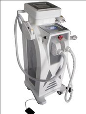 China IPL +Elight + RF+ Yag Laser Hair Removal And Tattoo Removal Beauty Equipment supplier