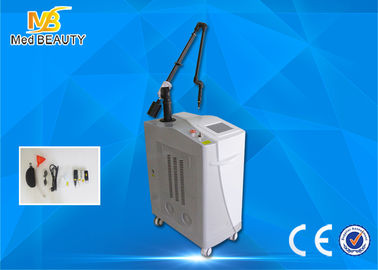 China Medical  Laser Tattoo Removal Equipment Double Lamps 1064nm 585nm 650nm 532nm distributor