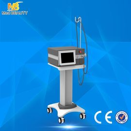 China Vertical Shockwave Therapy Equipment / Extracorporeal Shock Wave Therapy Eswt Machine Reduce Pains distributor