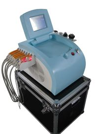 China Radiofrequency Laser Liposuction Equipment , 8 Paddles Lipo Laser Plus Cavitation distributor